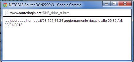 Configurazione Netgear - DGN2200 - Configurazione - dynDNS.it - DNS dinamico gratuito