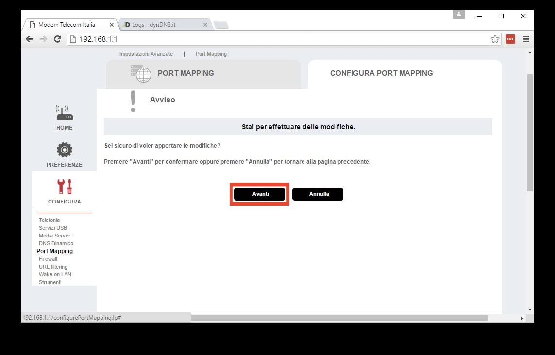 Configurazione Port Forwarding con DVR Dahua - dynDNS.it - DNS dinamico gratuito